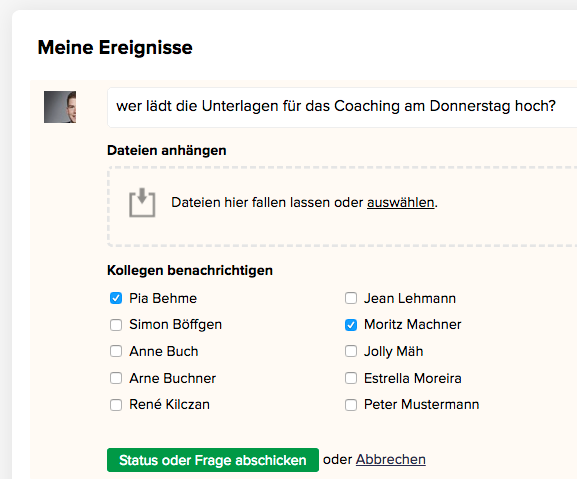 CentralStation CRM für Kollaboration bei Coaches